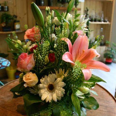 composition floral funéraille Un brin de folie 2