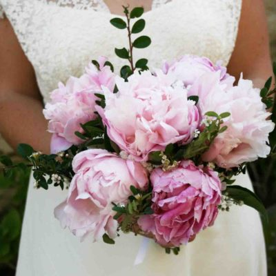 bouquet. UBDF pivoine