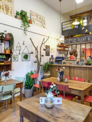 Café fleurs Lyon1 Un brin de folie